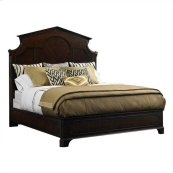 Charleston Regency - Cathedral Bed In Classic Mahogany - Queen