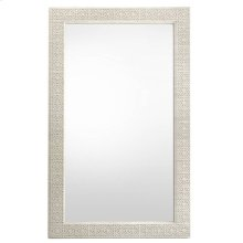 Oasis-Catalina Floor Mirror in Oyster