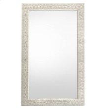 Oasis-Catalina Floor Mirror in Oyster