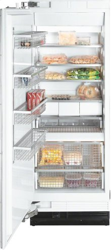 F 1813 Vi MasterCool freezer with high-quality features and maximum storage space for increased convenience.