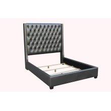 Clifton Metallic Grey Queen Bed