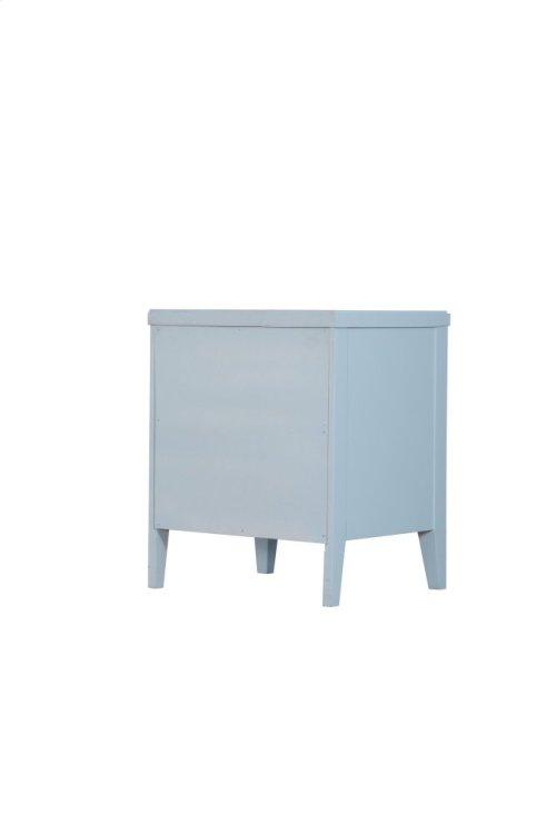 Emerald Home Home Decor 2 Drawer Nightstand-pastel Blue B371-04blu
