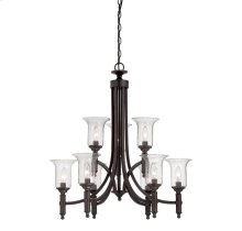 Trudy 9 Light Chandelier