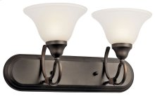 Stafford 2 Light Vanity Light Olde Bronze®