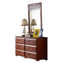 Dresser/Mirror Merlot