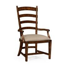 Oak Fireside Armchair