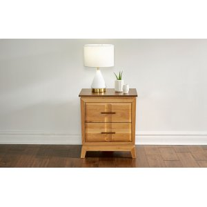 A America2 DRAWER NIGHTSTAND w/ USB