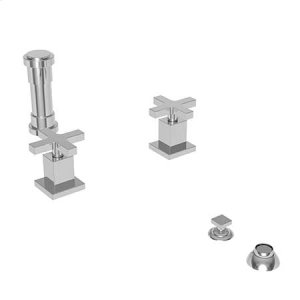 Stainless Steel - PVD Bidet Set