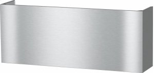 DRDC 6024 Duct Cover Chimney for concealing the ducting and adjusting the height to the wall unit.