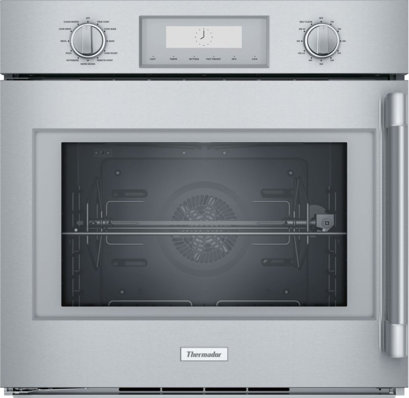 30 Inch Professional Single Wall Oven With Left Side Swing Door Pod301lw