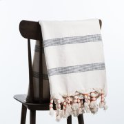 Cosette Throw - Cream Product Image