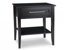 Stockholm 1 Drawer Open Night Stand