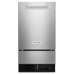 18'' Automatic Ice Maker - Stainless Steel with PrintShield™ Finish