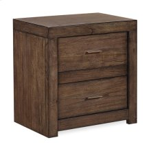 2 Drawer Nightstand w/ power