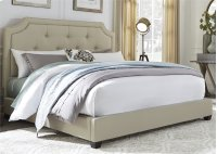 Queen Upholstered Bed Product Image