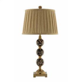 Metal and Ceramic Lamp