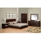 Queen Platform Bed 71''Wx40''Hx87''L Product Image