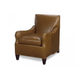 Leather Tight Back Chair
