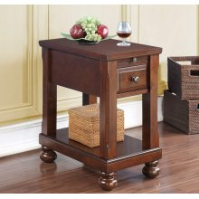 Chairside Table W/power Outlet