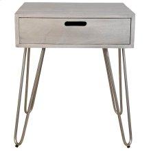 Jaydo Accent Table in Light Grey