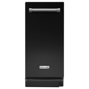 KitchenAid(R) 1.4 Cu. Ft. Built-In Trash Compactor - Black - BLACK