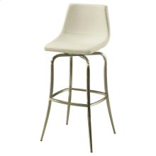 Diamond Pearl Swivel Barstool