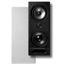 "Vanishing LS Series In-Wall Loudspeaker with Dual 6.5"" Drivers in White"