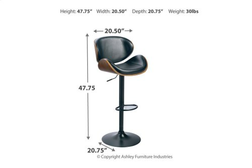 Tall UPH Swivel Barstool(1/CN)