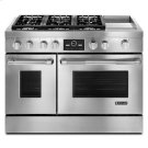 "Pro-Style® 48"" Dual-Fuel Range with Griddle and MultiMode® Convection Product Image"