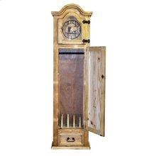 Gun Grandfather Clock