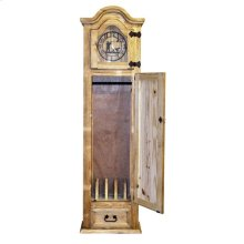 Gun Grandfather Clock