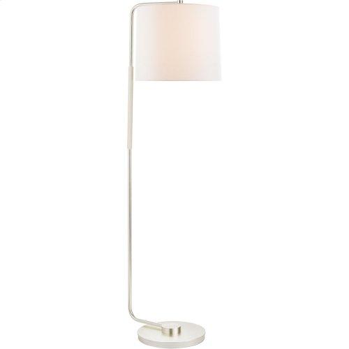 Visual Comfort BBL1070SS-L Barbara Barry Swing 55 inch 75 watt Soft Silver Floor Lamp Portable Light, Articulating