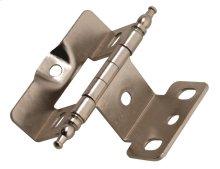 Non Self-closing, Full Wrap 3/4in(19mm) Door Thick. Hinge