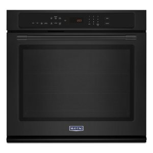 30-Inch Wide Single Wall Oven with True Convection - 5.0 cu. ft. - Black