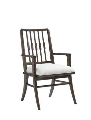 Crestaire-Savoy Arm Chair in Porter