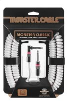 Prolink® Monster Classic Pro Audio Instrument Cable Coiled - 21 ft. / White Product Image