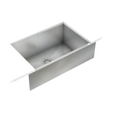 ProInox H0 Single Bowl Farmhouse/Apron Kitchen Sink ProInox H0 18-gauge Stainless Steel, 25'' X 16'' X 8''