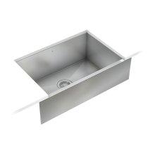 ProInox H0 Single Bowl Farmhouse/Apron Kitchen Sink ProInox H0 18-gauge Stainless Steel, 25'' X 16'' X 8''