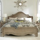 Corinne - Full/queen Curved Panel Headboard - Sun-drenched Acacia Finish Product Image