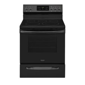 30'' Electric Range - BLACK