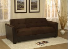 Brown Sofa Bed With Storage