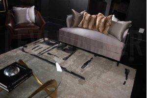 Christopher Guy Wool & Silk Collection Cgs11 Sea Sand Rectangle Rug 10' X 14'