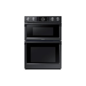 "Samsung30"" Flex Duo Microwave Combination Wall Oven in Black Stainless Steel"