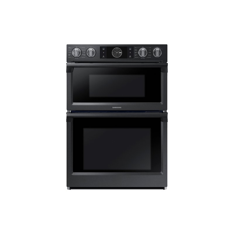 """30"""" Flex Duo™ Microwave Combination Wall Oven in Black Stainless Steel"""