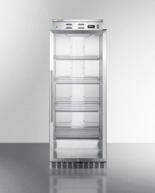 Single Chamber Warming Cabinet With Glass Door, Stainless Steel Construction, Digital Thermostat and Lock