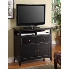 Black Cottage TV Stand