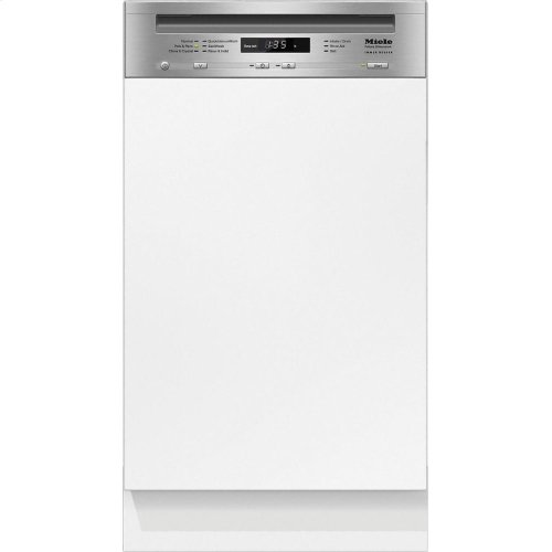G 4720 SCi AM Integrated, Slimline dishwasher with visible control panel, cutlery tray and custom panel ready, ADA Compliant