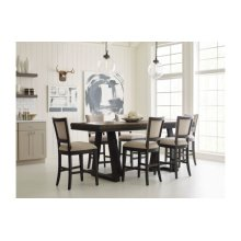 Kimler Counter Height Dining Table-complete