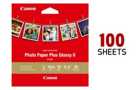Canon Photo Paper Plus Glossy II 5x5 - 100 Sheets