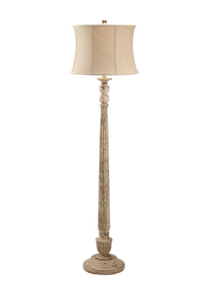 Fluted Column Floor Lamp